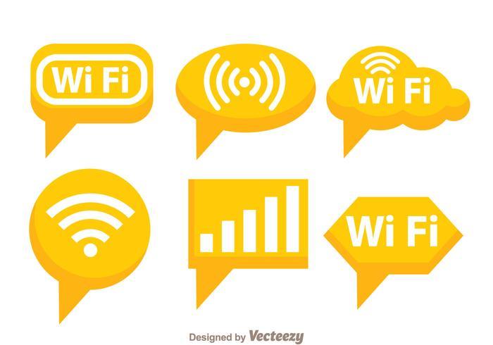 Orange Wifi Symbol