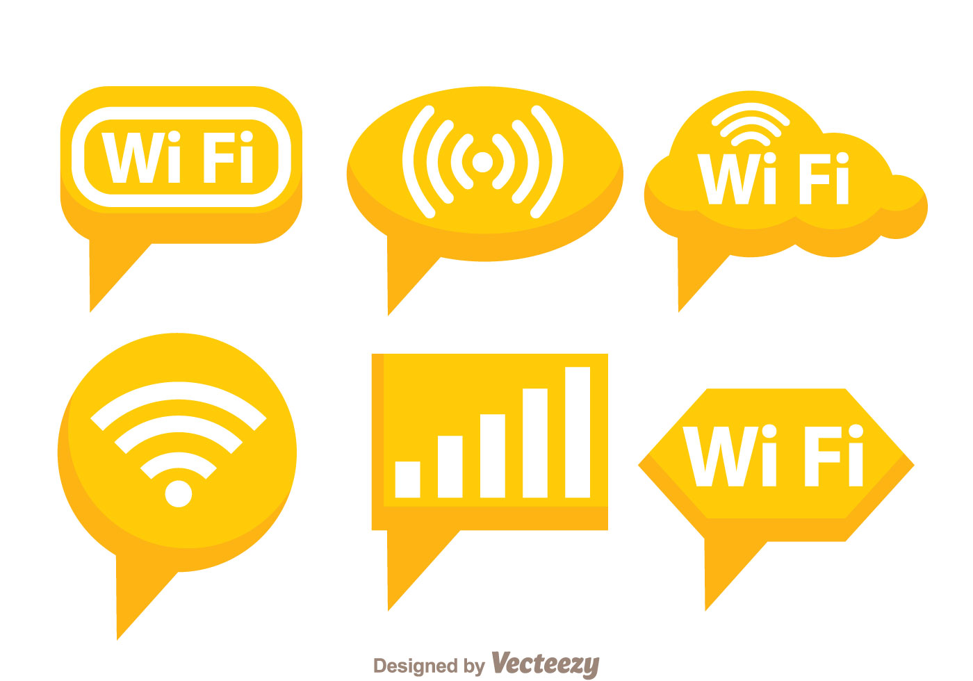 Orange Wifi Symbol Download Free Vector Art Stock