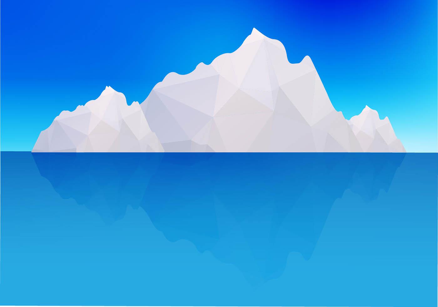 Iceberg vector - Download Free Vector Art, Stock Graphics ...