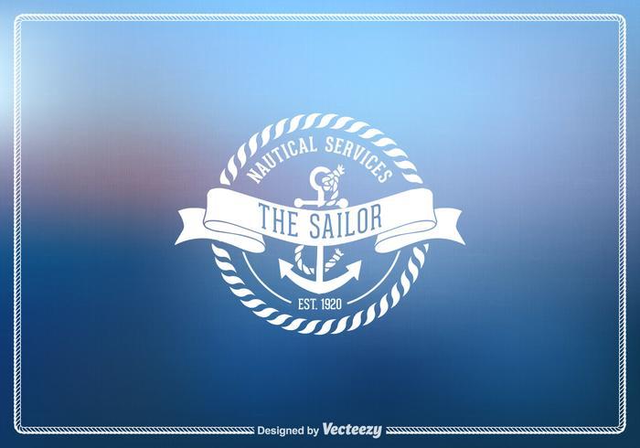 Free Vector Vintage Nautical Emblem