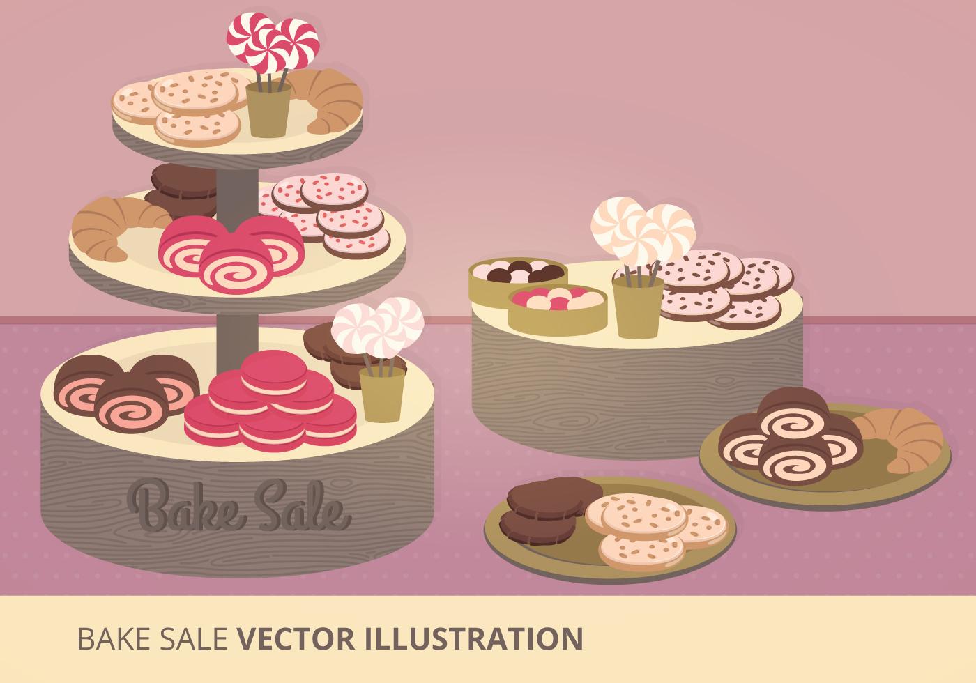 bake flyers vector art stock graphics images bake vector illustration