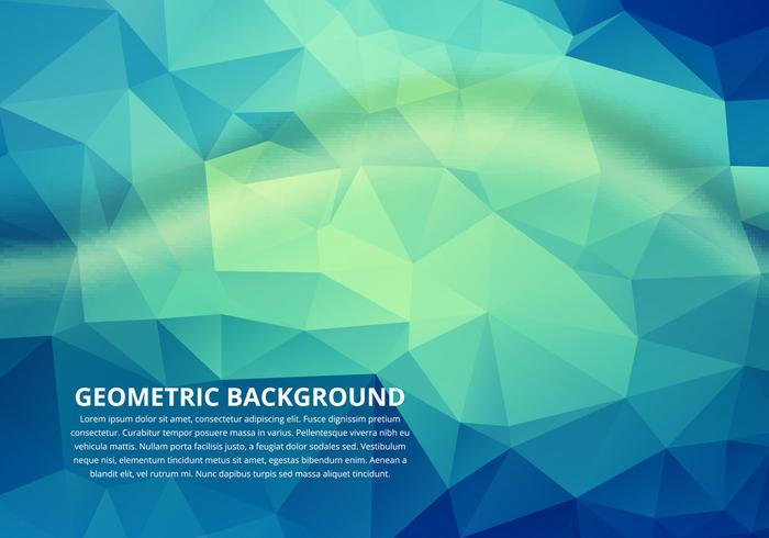Free Vector Polygon Colorful Background