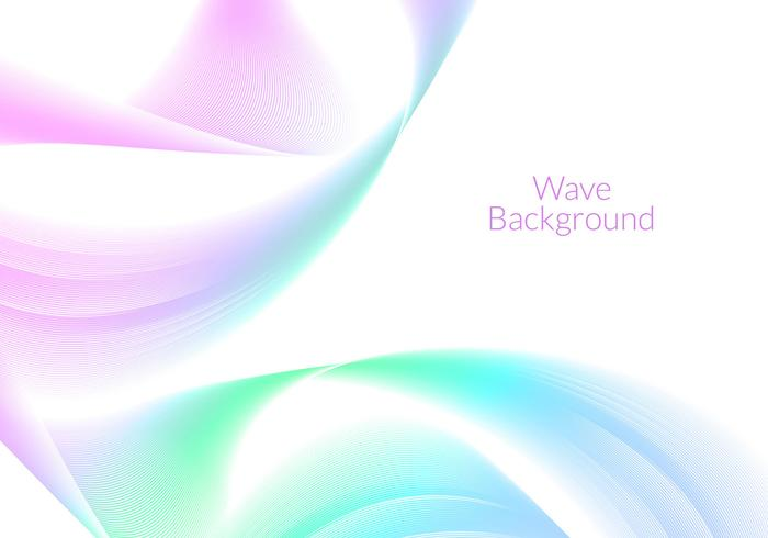 Free Vector Wave Background