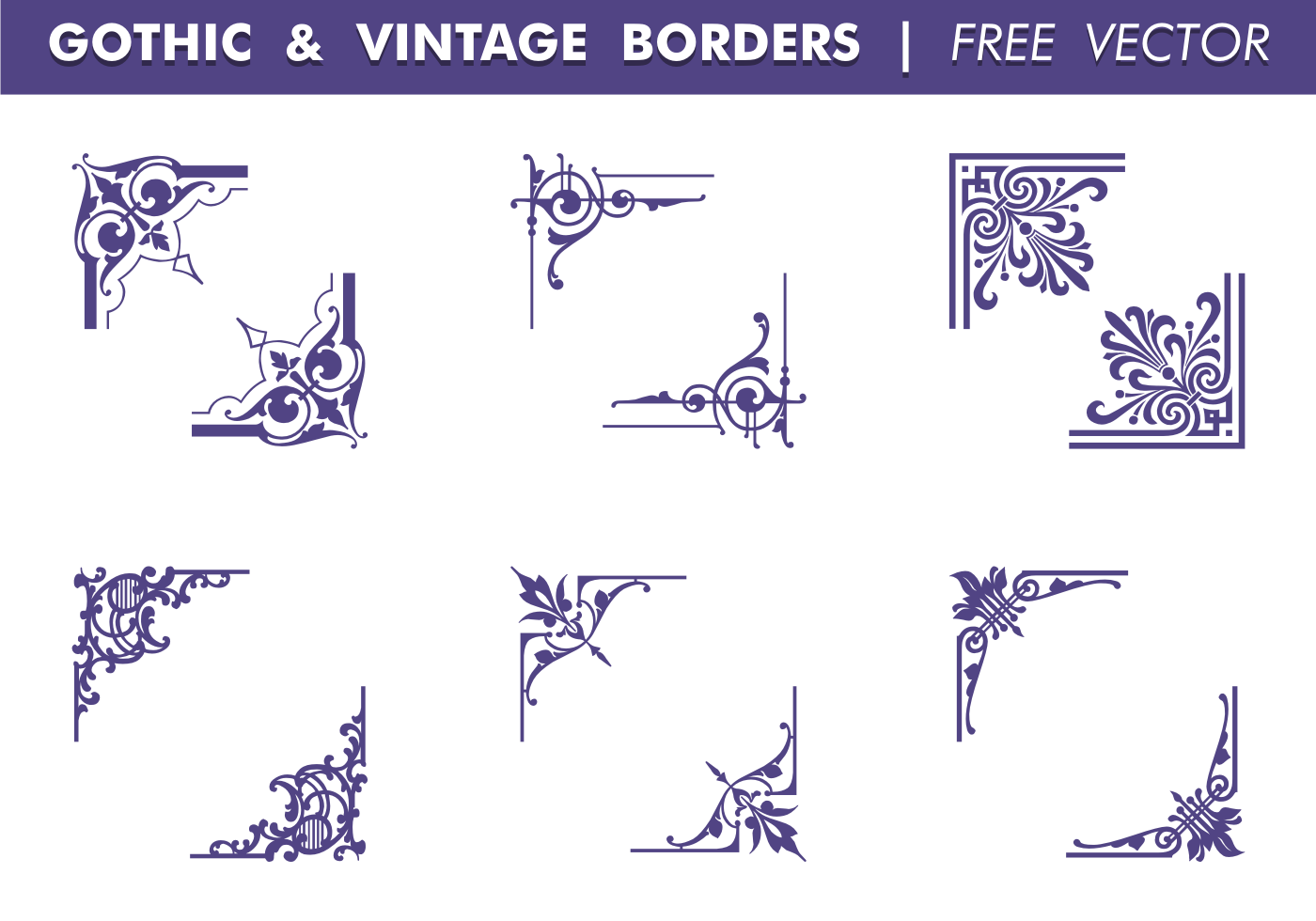Border Free Vector Art - (4647 Free Downloads)