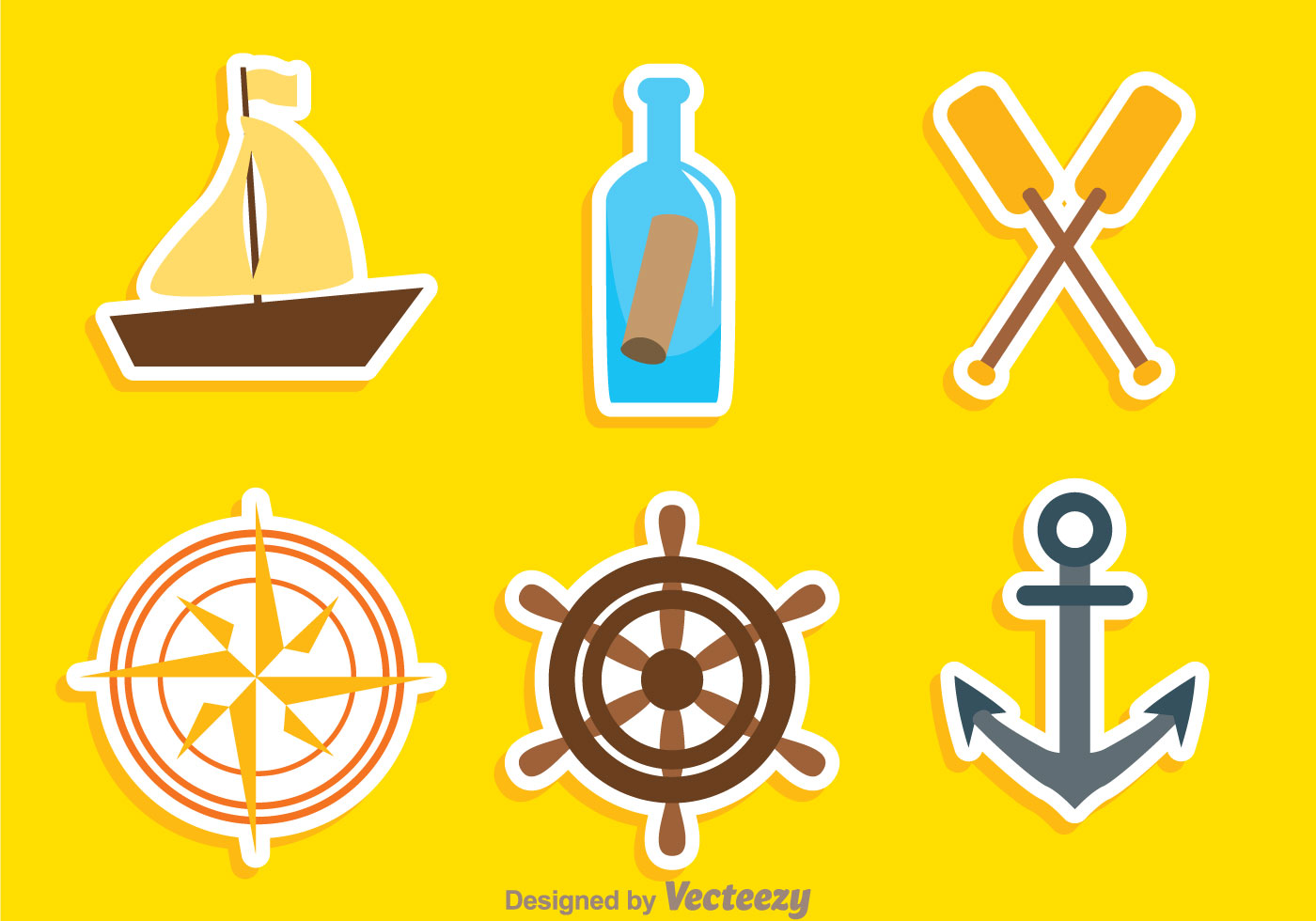 Nautical Colors Icons Download Free Vector Art Stock