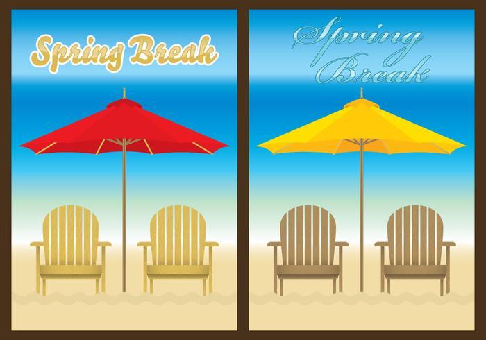 Plantillas de la playa de la silla