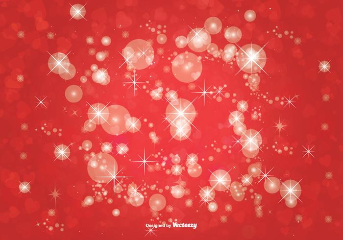 Bokeh Glitter Background Illustration