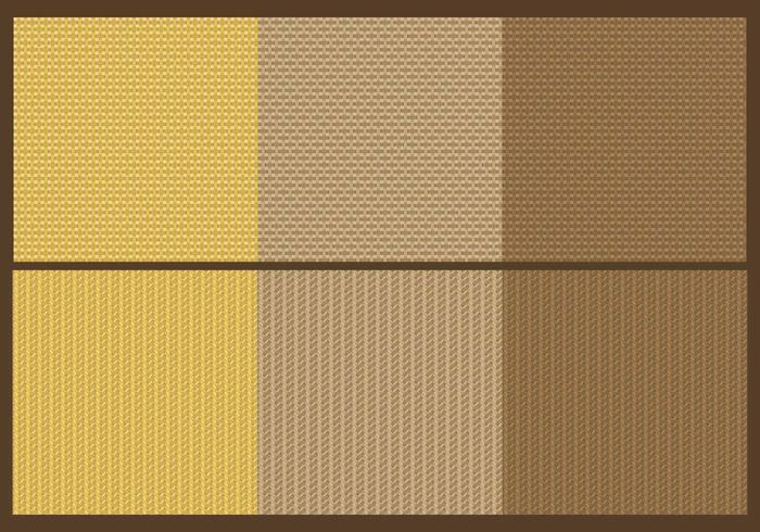 Sack Texture Vectors