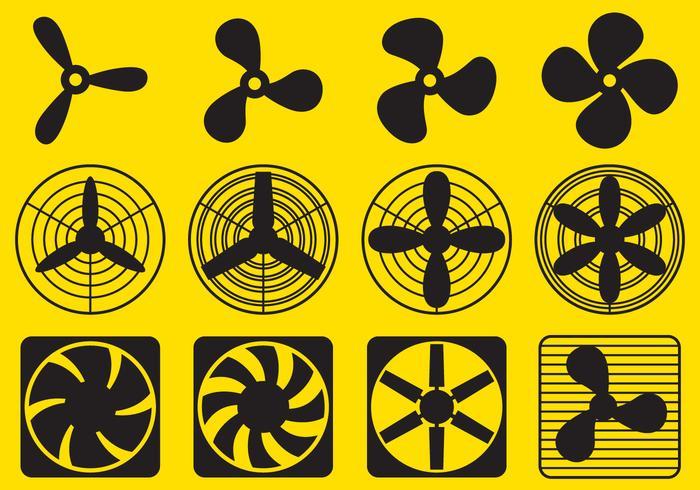 Ventilator Fan Vectors