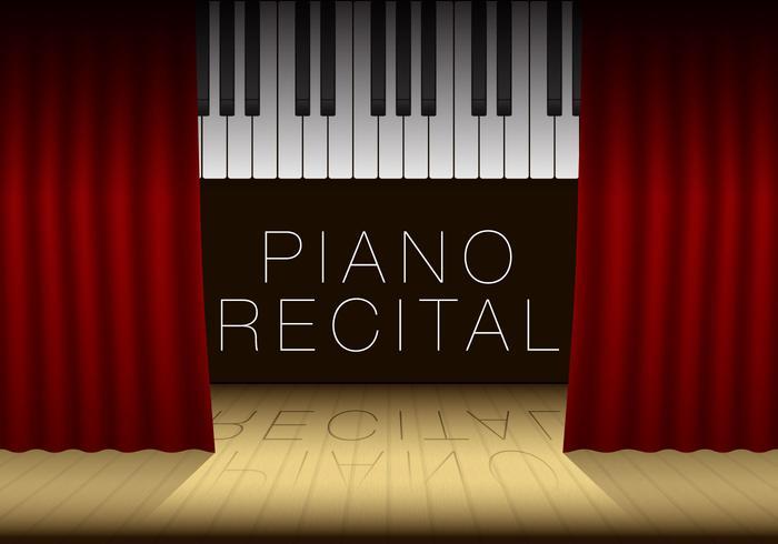 Plantilla del decreto del piano - Descargue Gráficos y Vectores Gratis