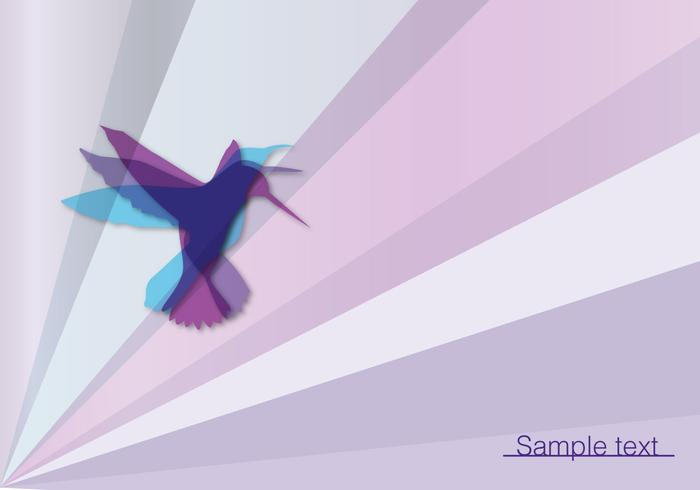 Zusammenfassung Vogel Vektor