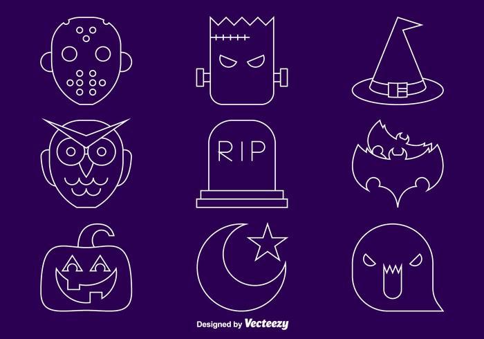 Halloween-Line-Icons