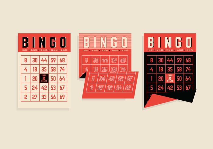 Bingo Card Vectors
