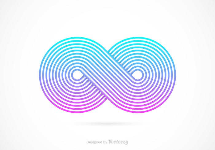 Retro Infinity Symbol Vector Download Free Vector Art Stock