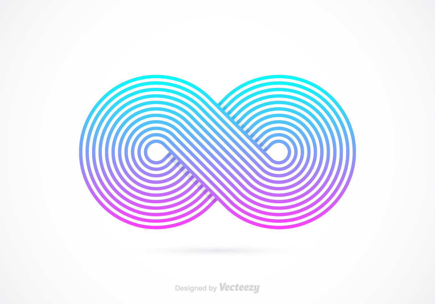 Retro Infinity Symbol Vector - Download Free Vector Art ...