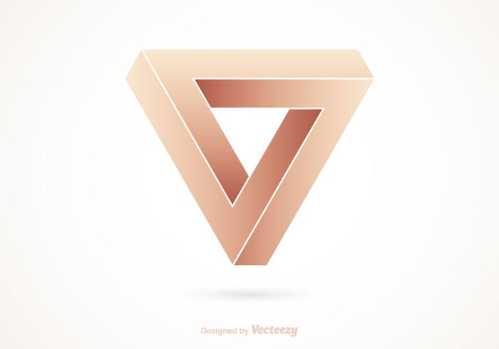Impossible Triangle Vector Logo
