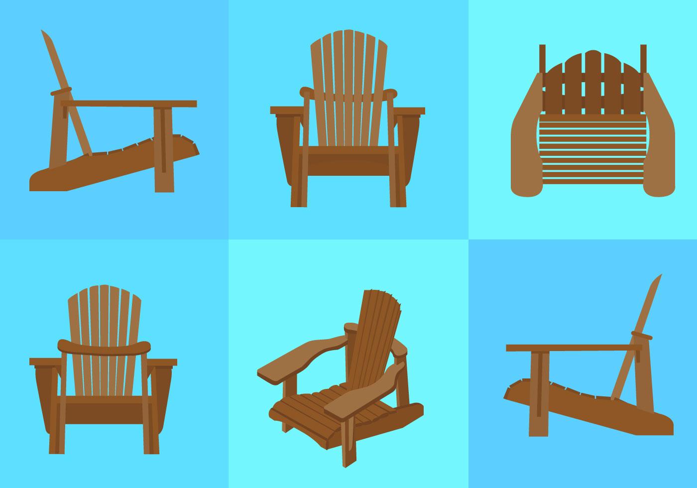 Adirondack Chair Free Vector Art - (691 Free Downloads)