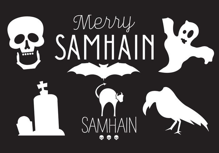Ilustrações vetoriais de Samhain