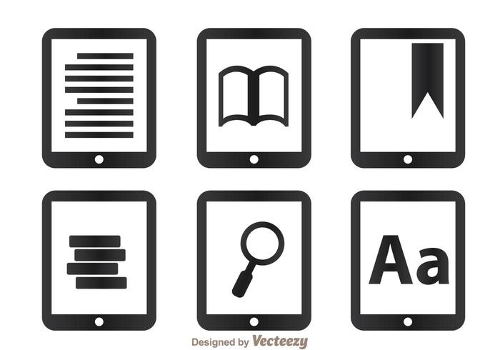 Lire les icônes sur la tablette