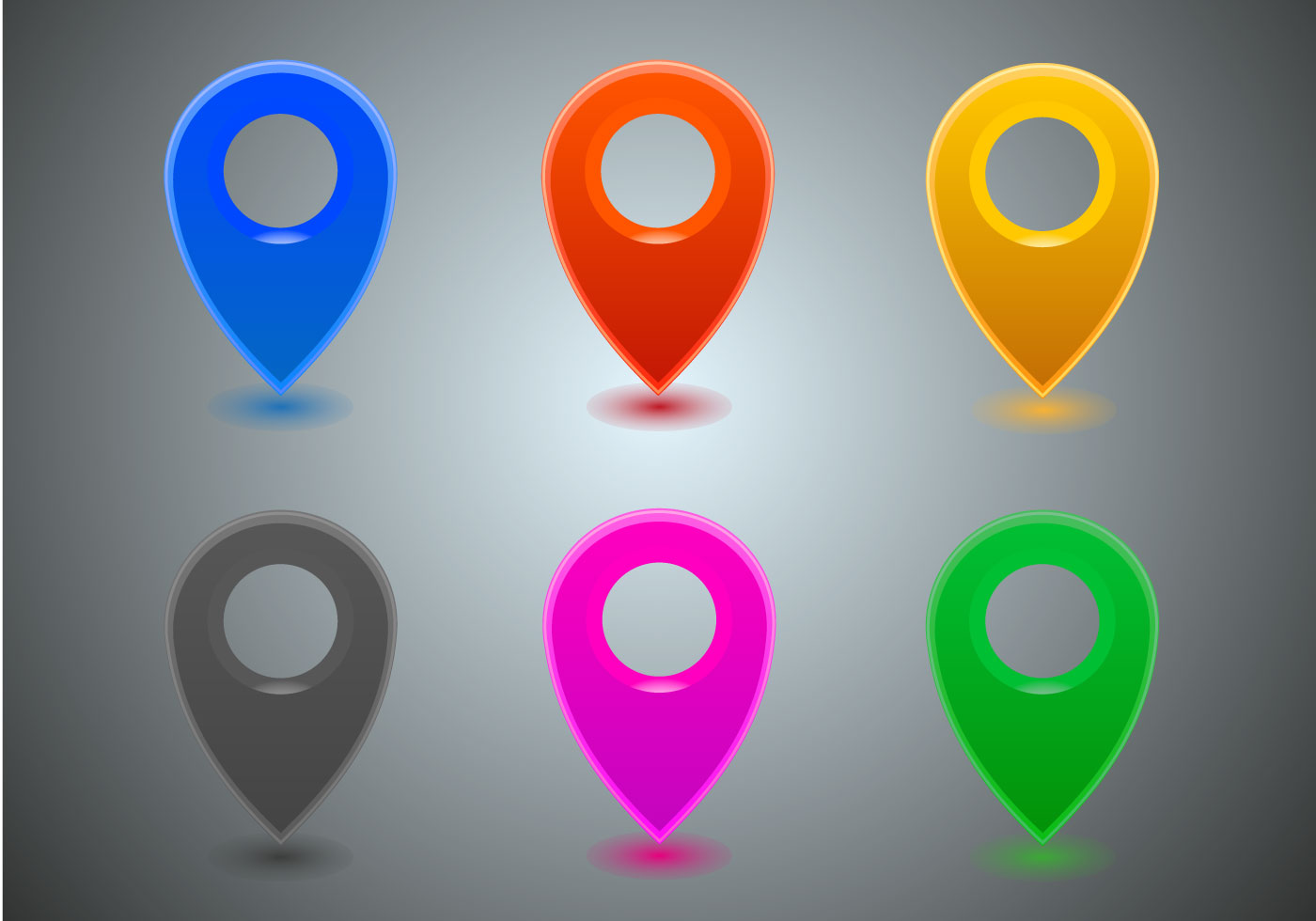 Location Position Icon Free Vector Graphic On Pixabay: Download Free Vector Art, Stock