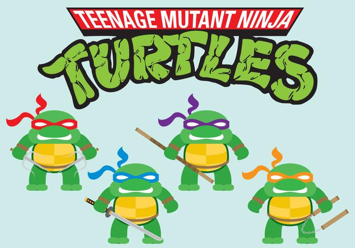 Ninja Turtles Mini Vectors