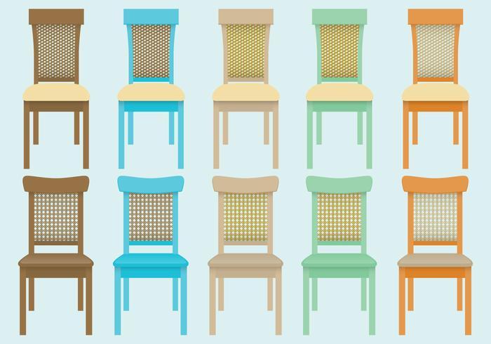 Wicker Chair Vectors