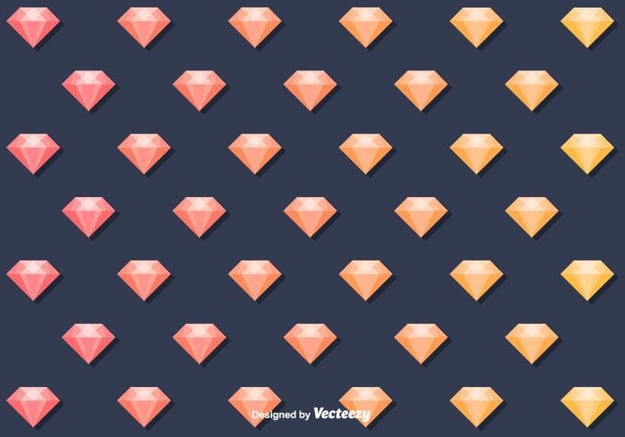 Modèle de diamant de vecteur gratuit