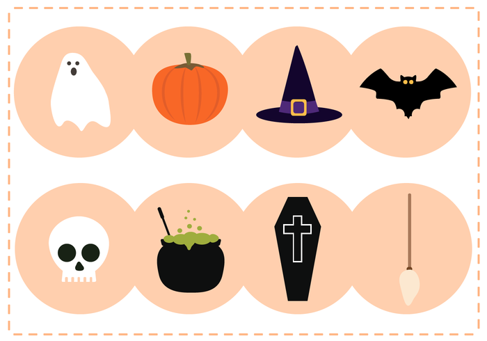 Vecteur Halloween gratuit