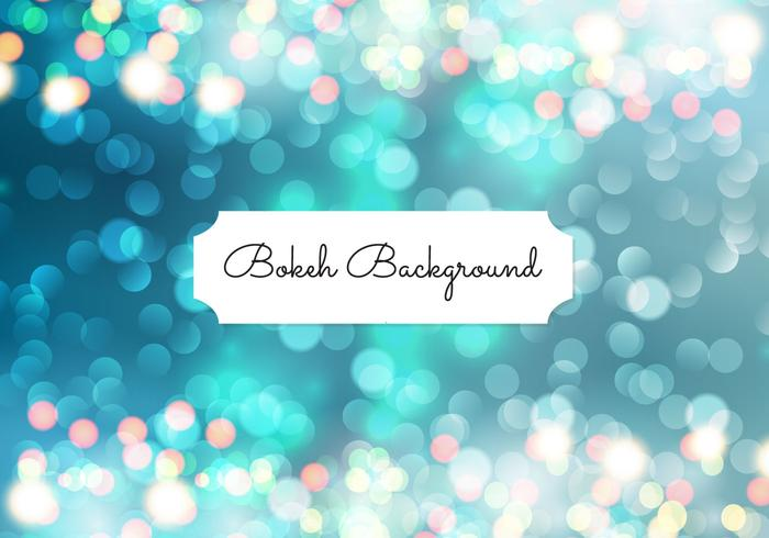 Beautiful Abstract Bokeh Background