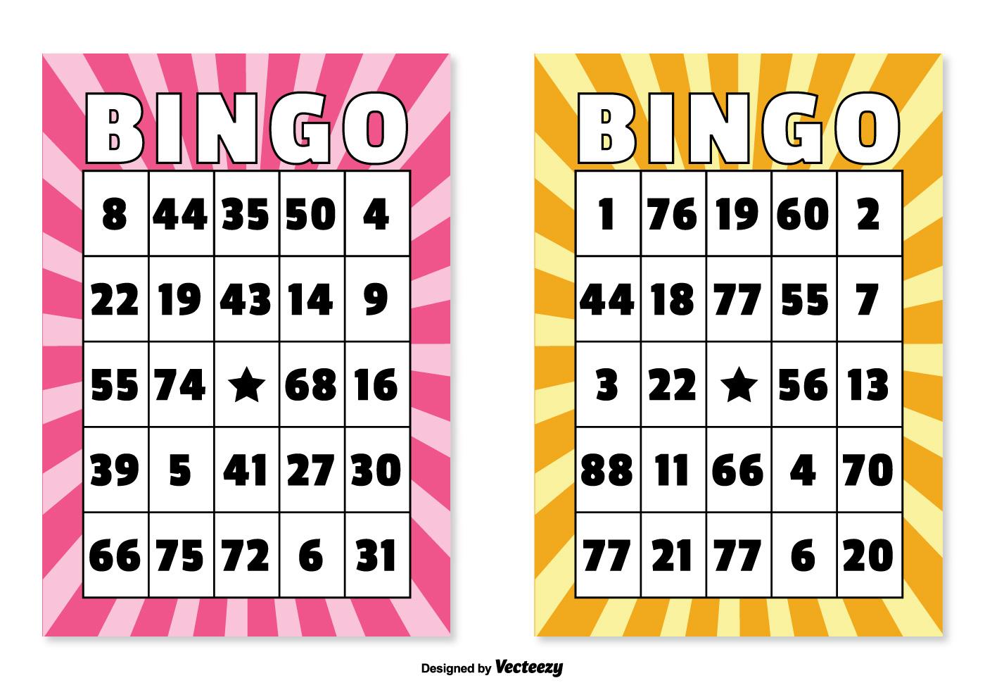 Bingo Card Illustrations