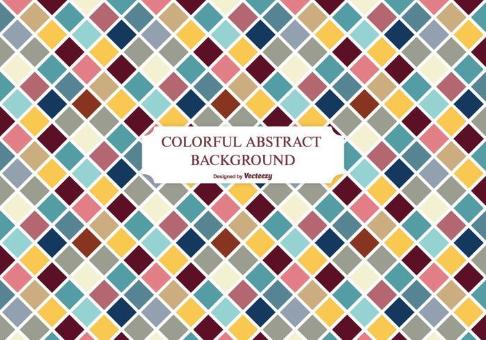 Colorful Diamond Shapes Pattern Background