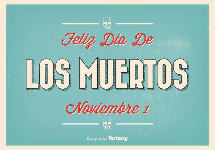Ejemplo tipográfico de Dia de Los Muertos