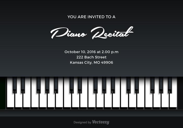 Music concert ticket template
