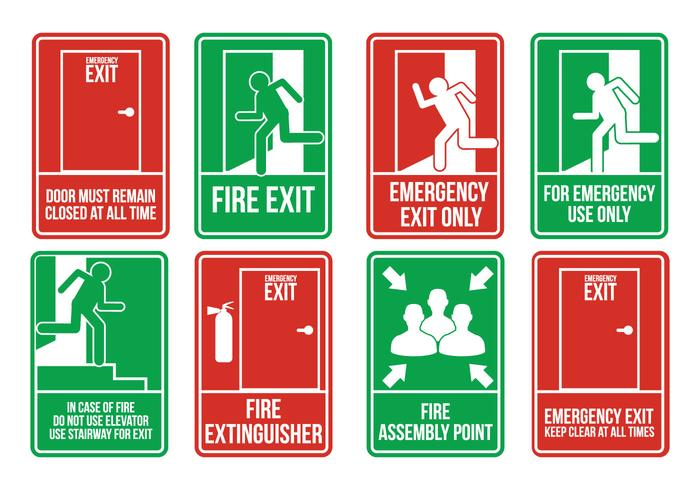Emergency Exit Vectors