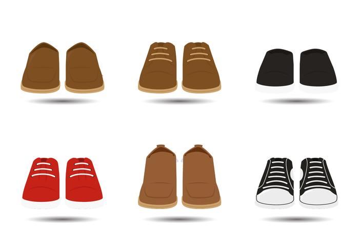 Men Shoes Vectors