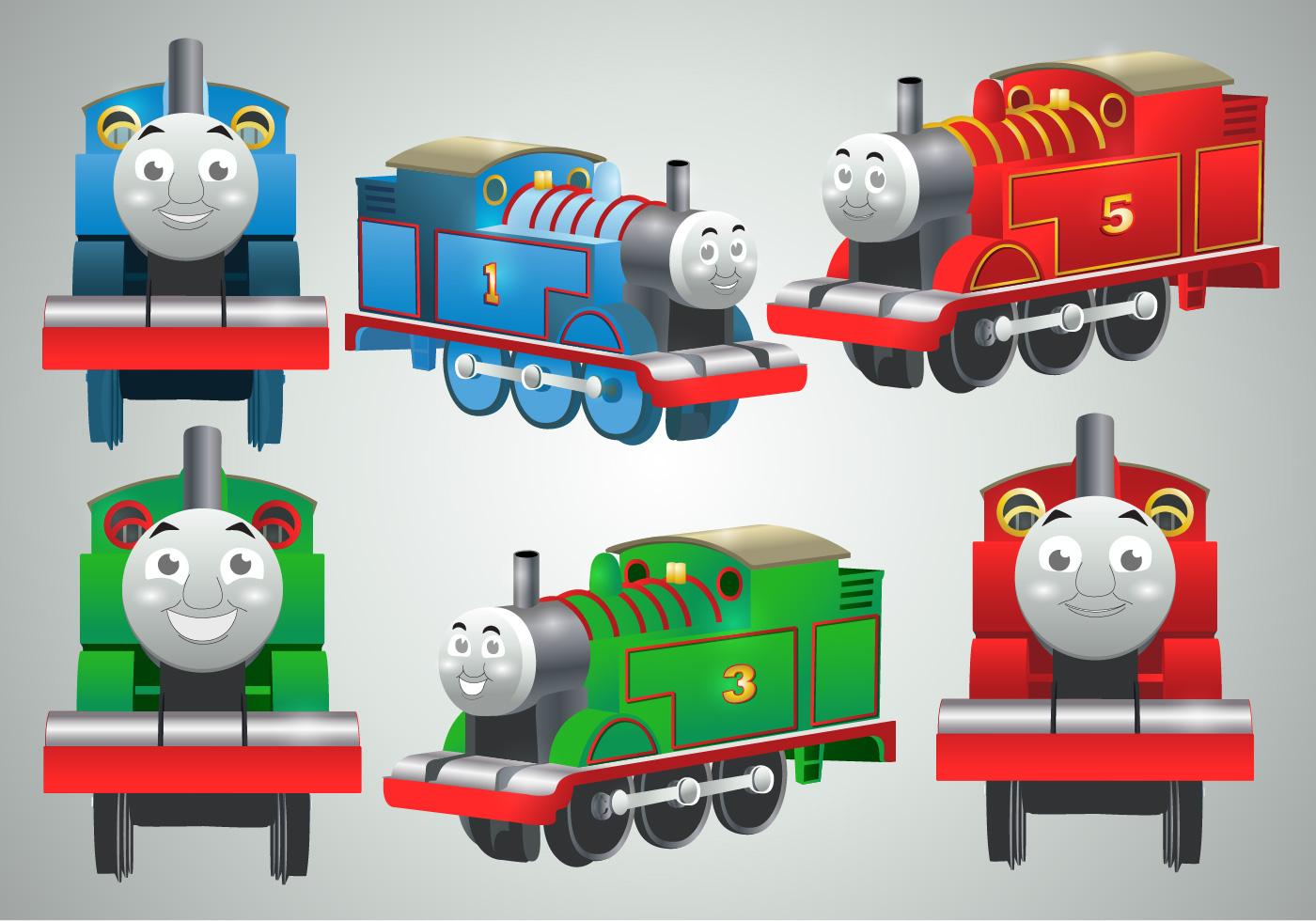 Thomas The Train Vectors - Download Free Vector Art, Stock Graphics ...