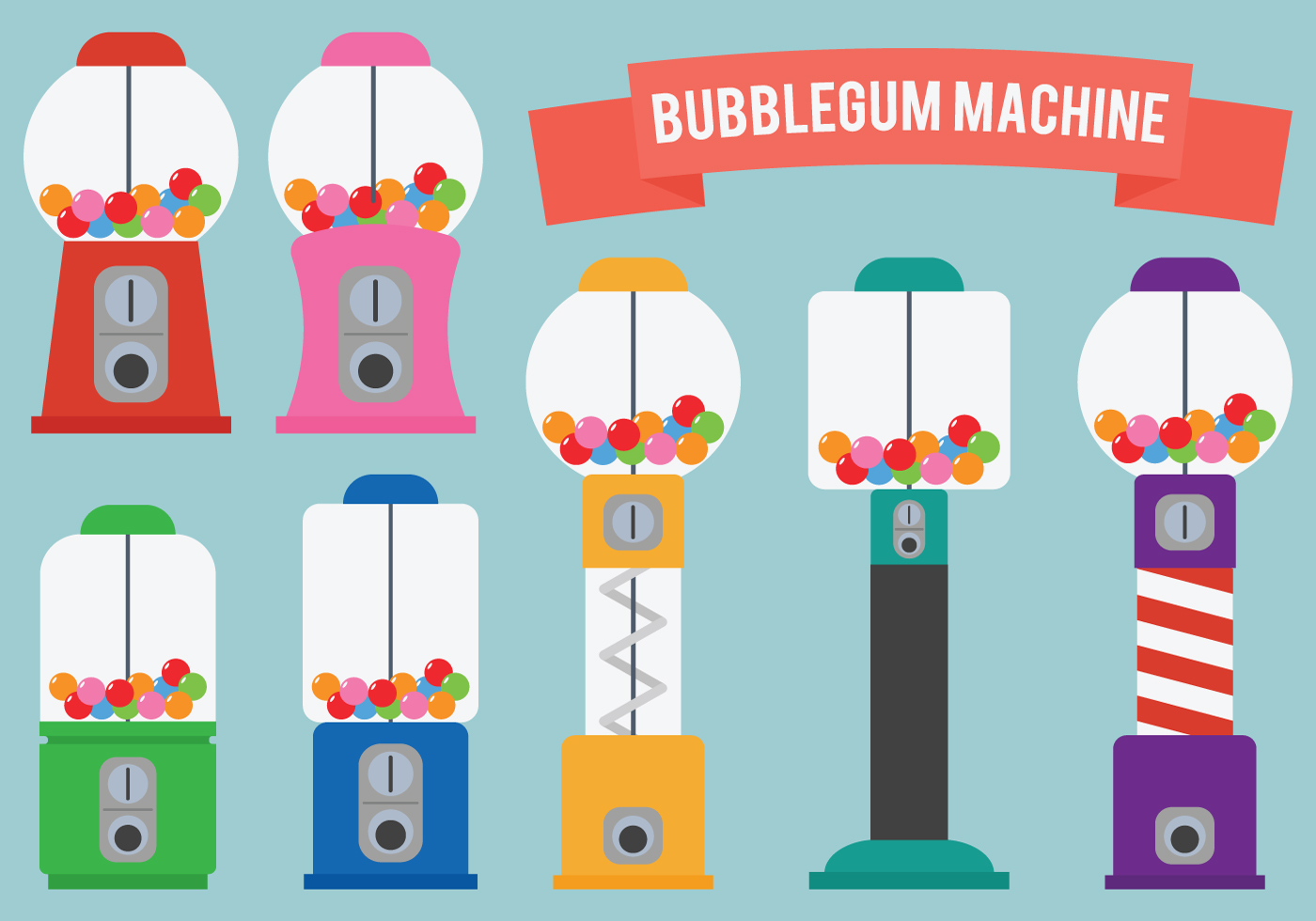 bubblegum machine clip