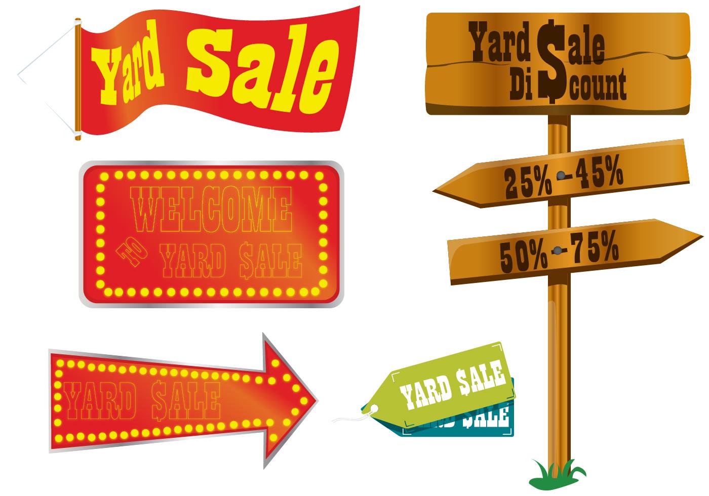 free yard sale clip art pictures clipartix