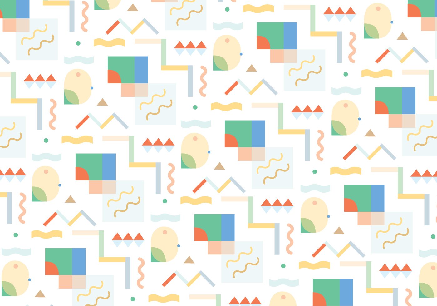 Fun Abstract Pattern Vector Download Free Vector Art