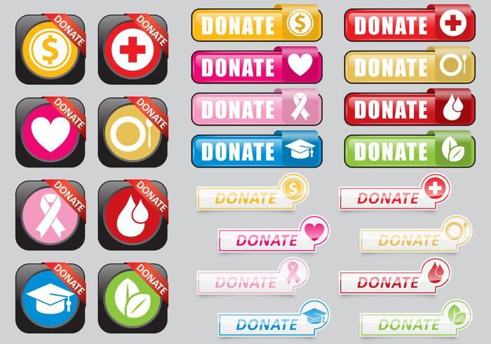 Donate Web Buttons