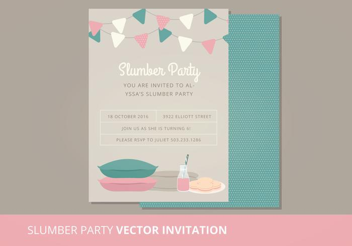Vektor Schlummer Party