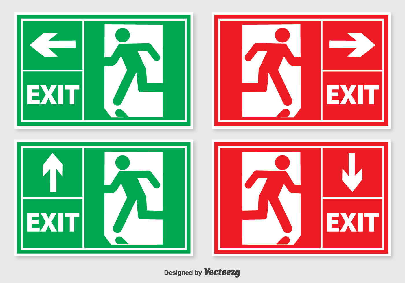 Pictogram Fire Exit Impremedia Net