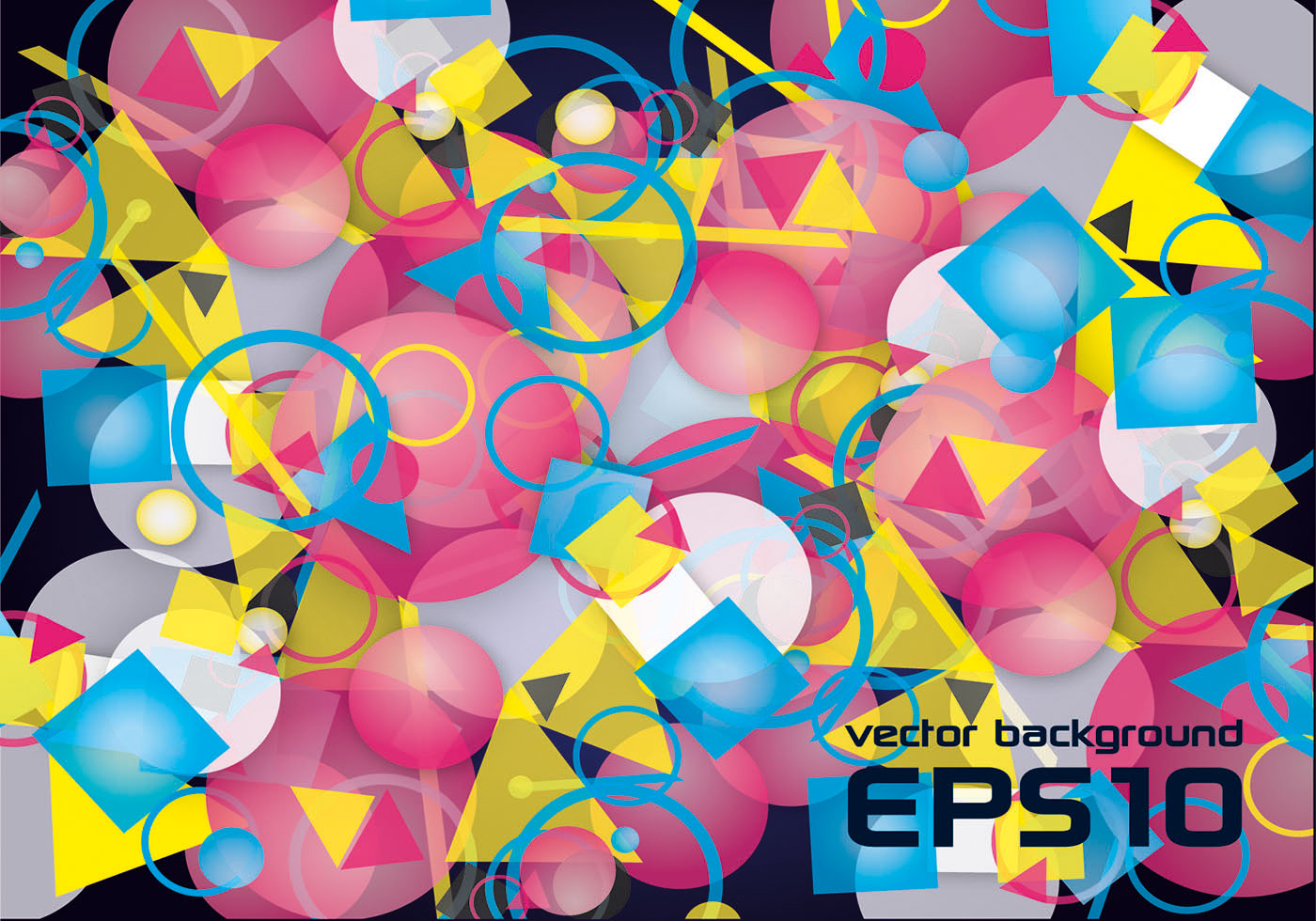 Color Abstract Vector Background Text Frame Stock Vector: Free Colorful Abstract Vector Background