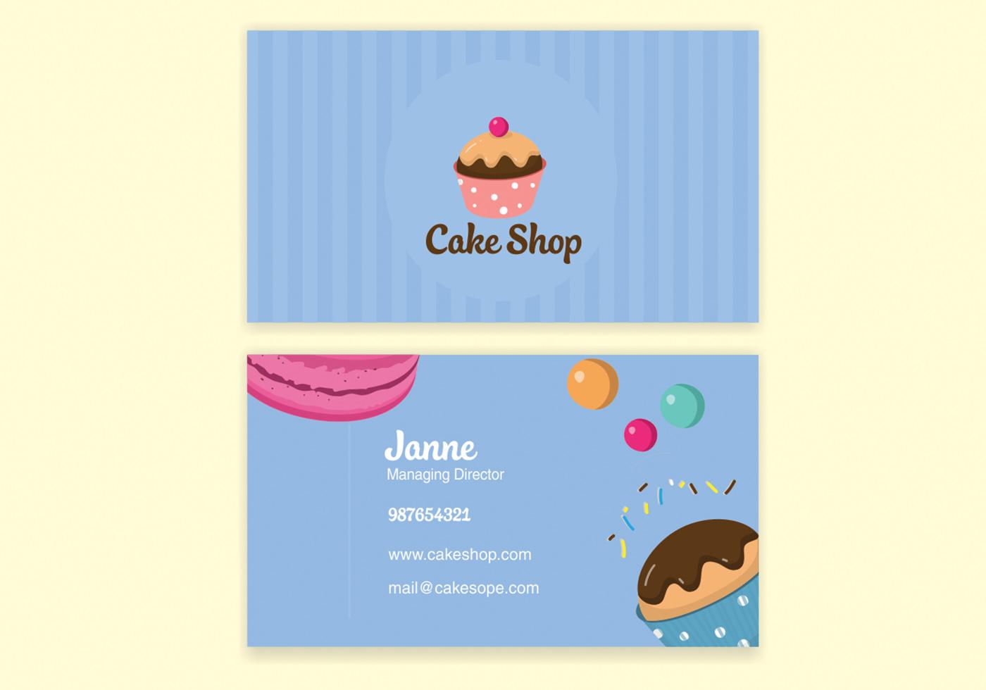 Barber Shop Business Card Free Vector Art - (26196 Free Downloads)