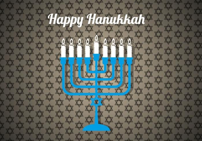 Free Happy Hanukkah Vector