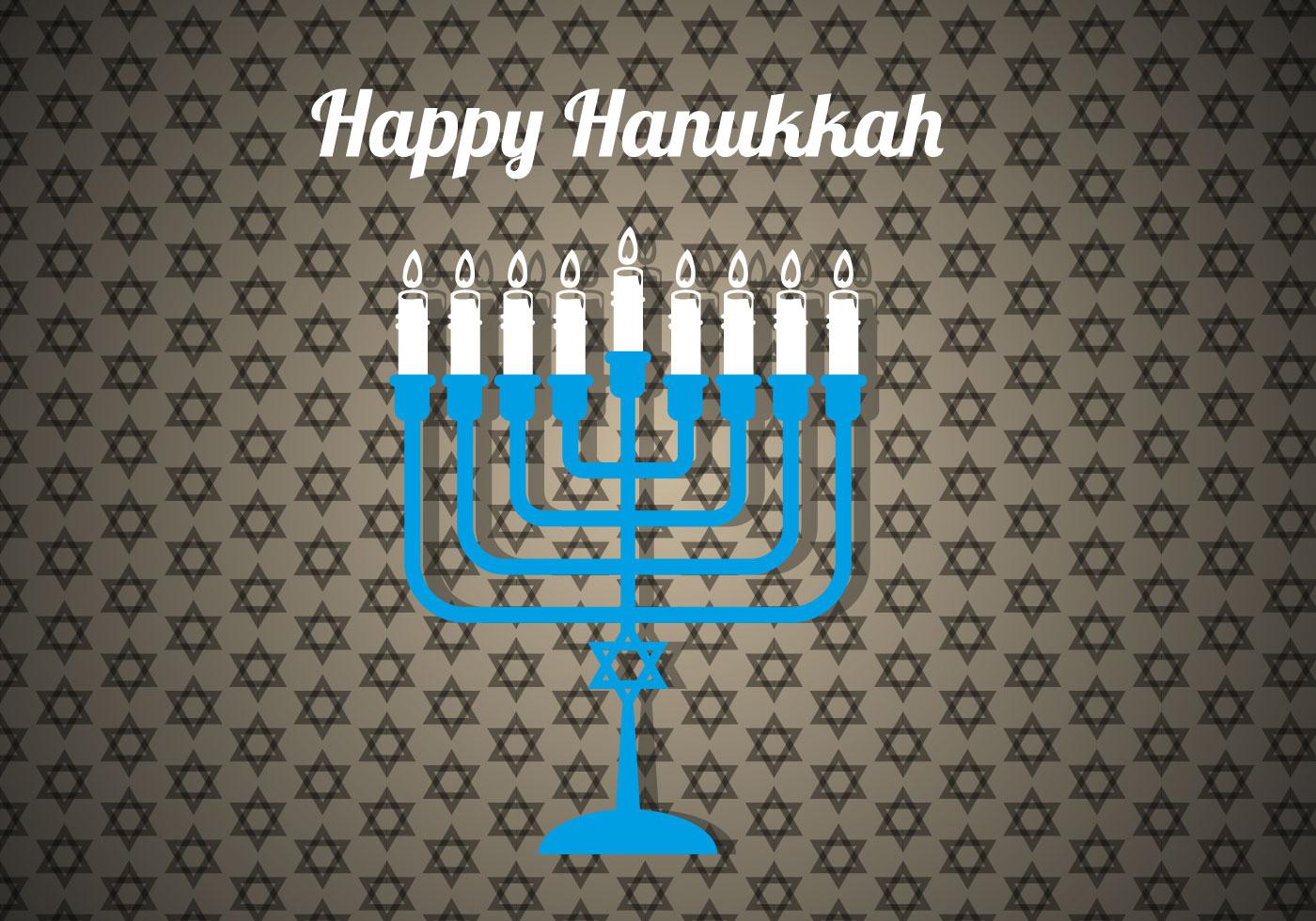 Free Happy Hanukkah Vector Download Free Vector Art Stock