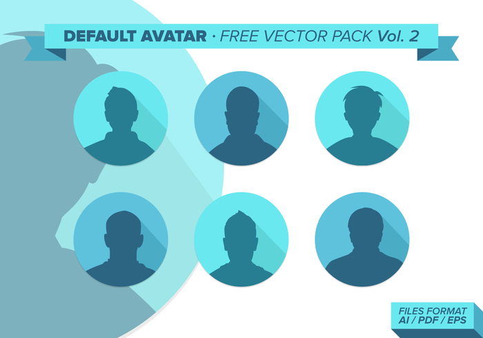 Predeterminado Avatar Free Vector Pack Vol. 2