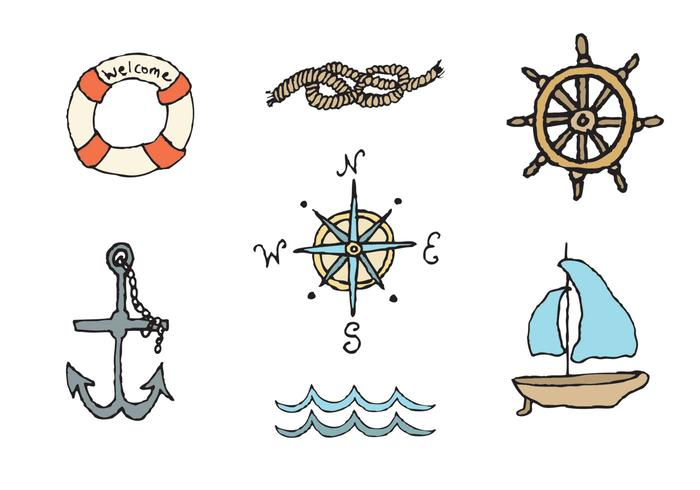 Gratis Nautical Vector Series