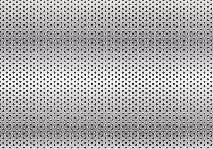 Metal Free Background Vector