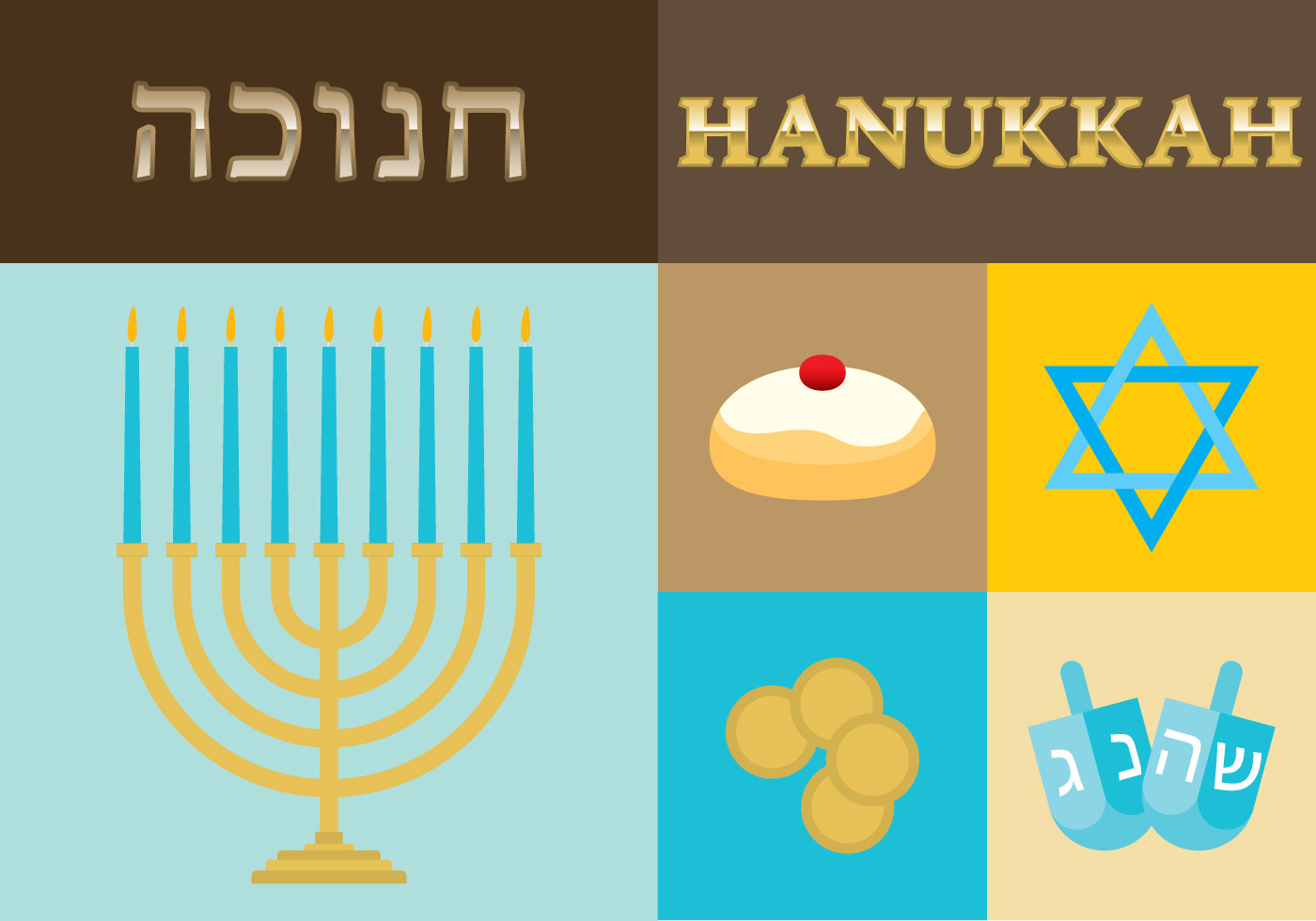 Hanukkah Download Free Vector Art Stock Graphics Images